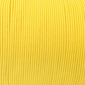 Minicord. Paracord 100 Type I (1.9 mm), yellow pastel #419-Type1