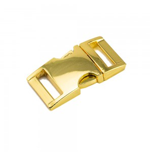 """5/8"""" античное золото, фастекс металлический"""