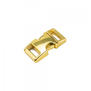 """3/8"""" античное золото, фастекс металлический"""