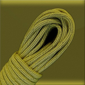 Paracord 550, BLACK NOISE sofit yellow #319-BN