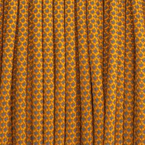 Paracord 550, super reflective 50/50  snake Orange  #r16045S (светоотражающий)