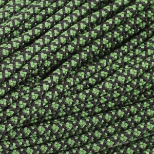 Minicord. Paracord 100 Type I (1.9 mm), green snake #265-Type1