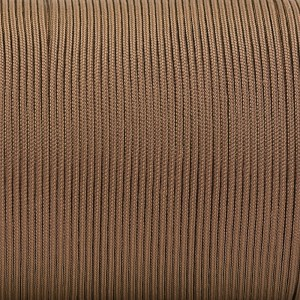 Minicord. Paracord 100 Type I (1.9 mm), copper brown #015-type1