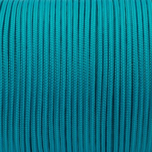 Minicord. Paracord 100 Type I (1.9 mm), green wave #460-type1