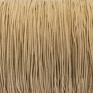 Micro cord (1.4 mm), golden sand #028-1