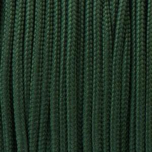 Paracord 425 Type II (3mm), dark emerald green #022-Тype2
