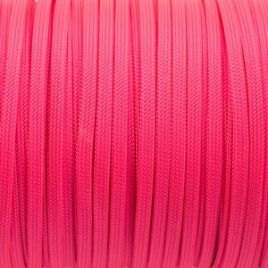 Coreless Paracord, sofit pink #315-H, (полый шнур)