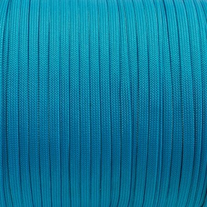 Coreless Paracord, blue #050-H, (полый шнур)