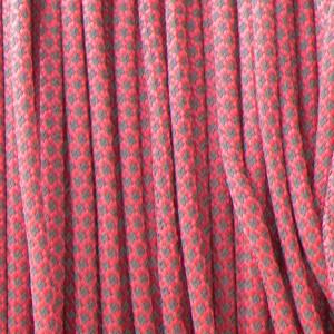 Paracord 550, super reflective 50/50 snake sofit pink #r16315S (светоотражающий)
