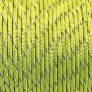 Paracord 550, reflective X3 green pastel #r3421 (светоотражающий)