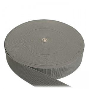 Лента ременная, 50 мм, серая, полиамидная