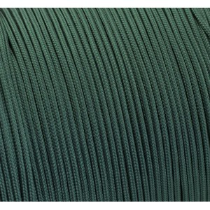 Paracord 275 (2,2mm), dark emerald green #022-2