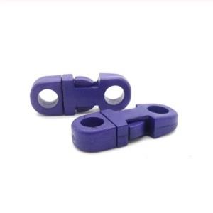 Закругленный фастекс пластиковый 5мм, фиолетовый