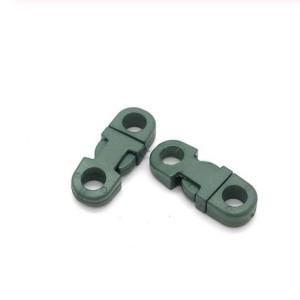 Закругленный фастекс пластиковый 5мм, OD green