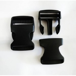 Фастекс 40 мм пластиковый, черный