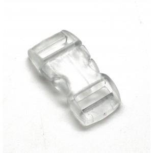 """3/8"""", прозрачный, фастекс пластиковый"""