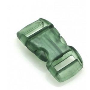 """3/8"""", прозрачный зеленый, фастекс пластиковый"""