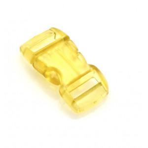 """3/8"""", прозрачный желтый, фастекс пластиковый"""
