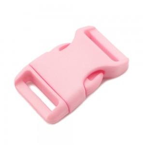 """3/4"""", розовый, фастекс пластиковый"""