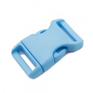 """3/4"""", голубой, фастекс пластиковый"""