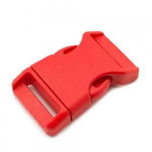 """1"""", красный, фастекс пластиковый"""