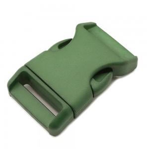 "1"", army green, фастекс пластиковый"