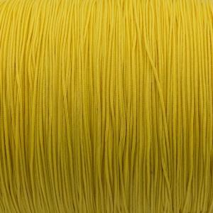 Micro cord (1.4 mm), yellow pastel #419-1