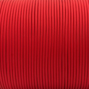 Paracord 550, imperial red #502