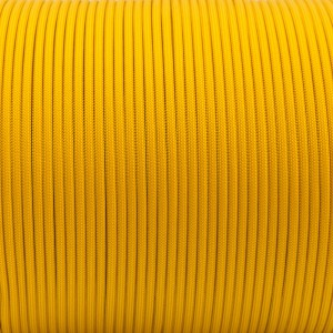Paracord 550, golden yellow #505