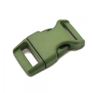 """5/8"""", армейский зеленый OD green, фастекс пластиковый"""